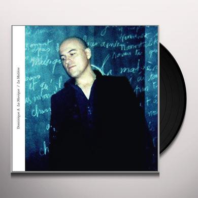Dominique A LA MUSIQUE / LA MATIERE Vinyl Record - Canada Import
