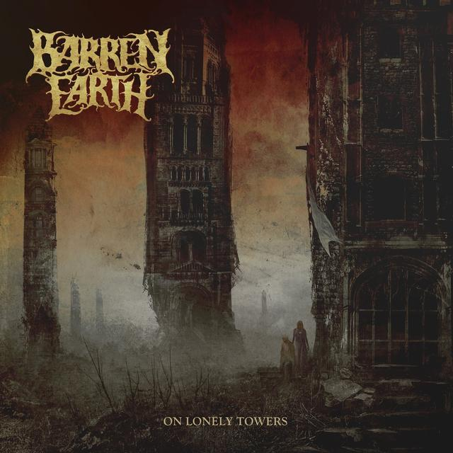 Barren Earth ON LONELY TOWERS Vinyl Record