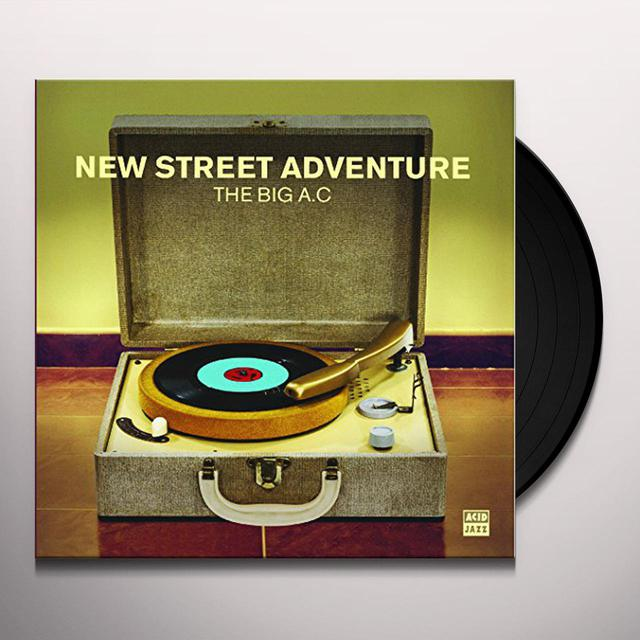 New Street Adventure BIG A.C Vinyl Record - UK Import