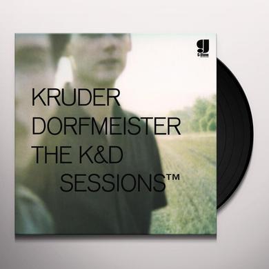 Kruder & Dorfmeister K&D SESSIONS Vinyl Record - UK Release