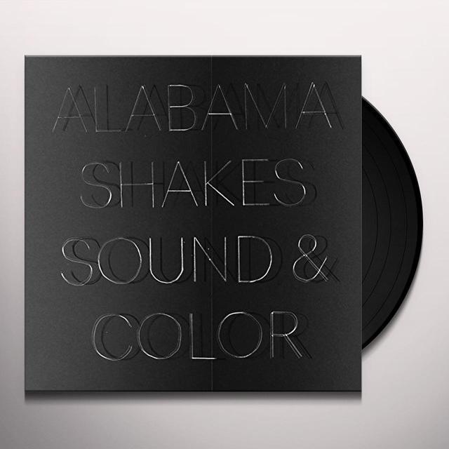 Alabama Shakes SOUND & COLOR Vinyl Record - 180 Gram Pressing, Deluxe Edition