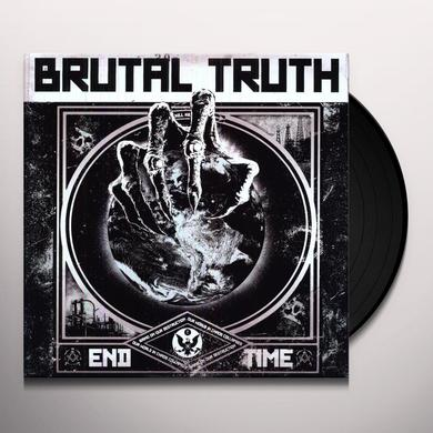 Brutal Truth END TIME Vinyl Record - Holland Import