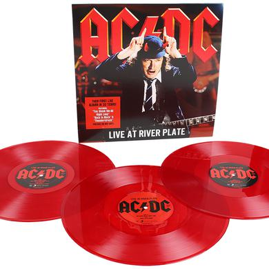 AC/DC LIVE AT RIVER PLATE Vinyl Record