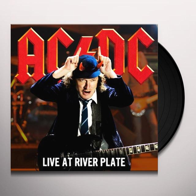 AC/DC LIVE AT RIVER PLATE Vinyl Record - Holland Import