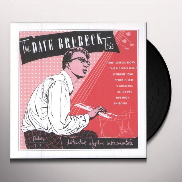 Dave Brubeck Trio DISTINCTIVE RHYTHM I Vinyl Record - 10 Inch Single, Holland Release
