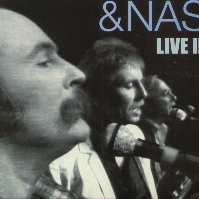 Crosby Stills & Nash LIVE IN L.A. Vinyl Record - Holland Release