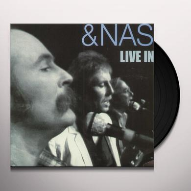 Crosby Stills & Nash LIVE IN L.A. Vinyl Record - Holland Release