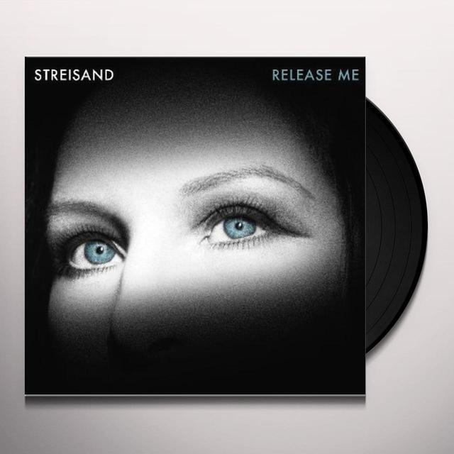 Barbra Streisand RELEASE ME Vinyl Record - Holland Release