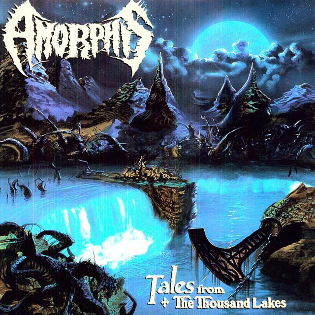 Amorphis TALES FROM THE THOUSAND LAKES Vinyl Record - Holland Import