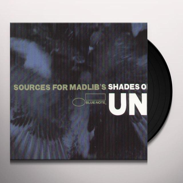 UNTINTED: SOURCES FOR MADLIB'S SHADES / VARIOUS Vinyl Record