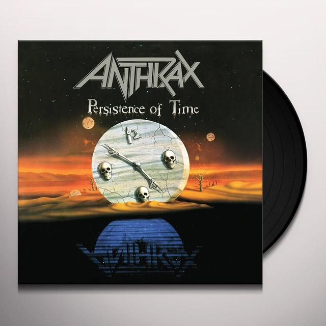 Anthrax PERSISTENCE OF TIME Vinyl Record