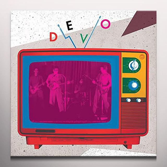 Devo MIRACLE WITNESS (HOT DUST) Vinyl Record - Colored Vinyl