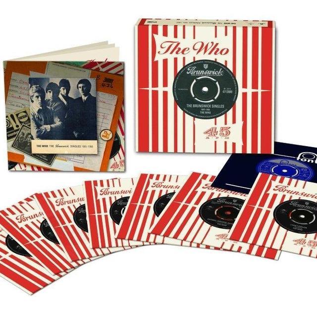 The Who BRUNSWICK SINGLES Vinyl Record