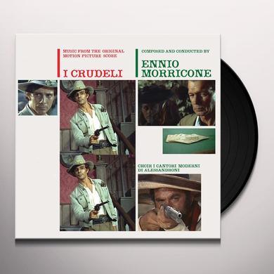 Ennio Morricone I CRUDELI (THE CRUEL ONES) Vinyl Record