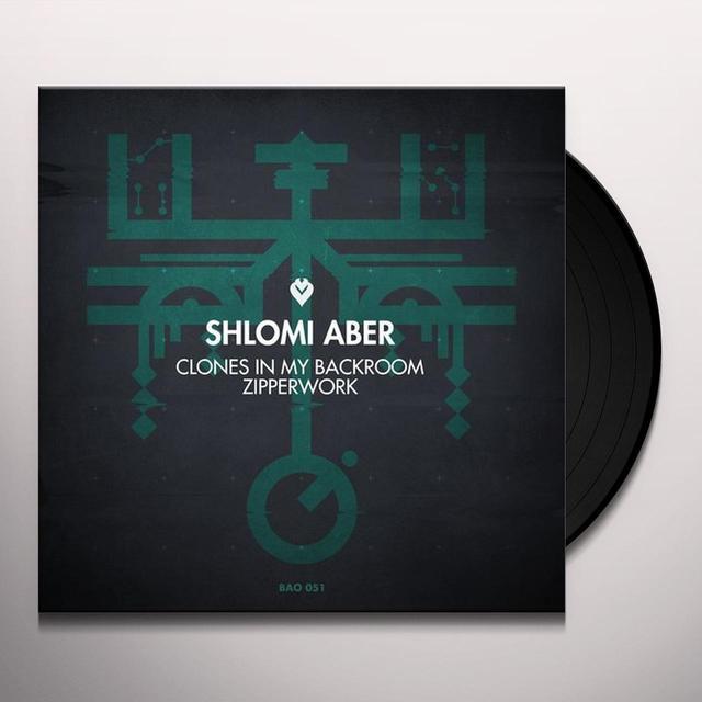Shlomi Aber ZIPPERWORK / CLONES IN MY BACKROOM Vinyl Record