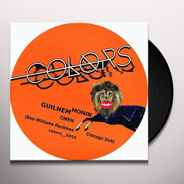 Guilhem Monin OMEN (BOO WILLIAMS RECKLESS CHICAGO DUB) Vinyl Record