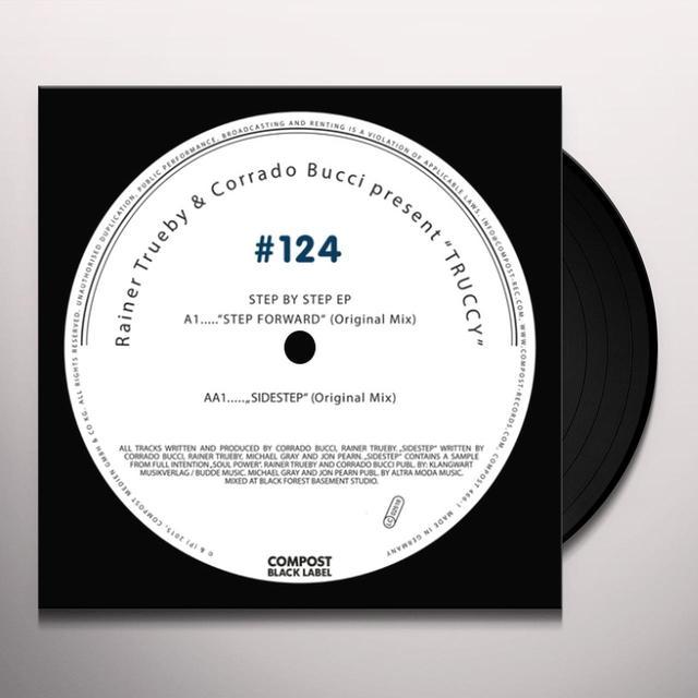 Rainer Trueby & Corrado Bucci STEP BY STEP (EP) Vinyl Record