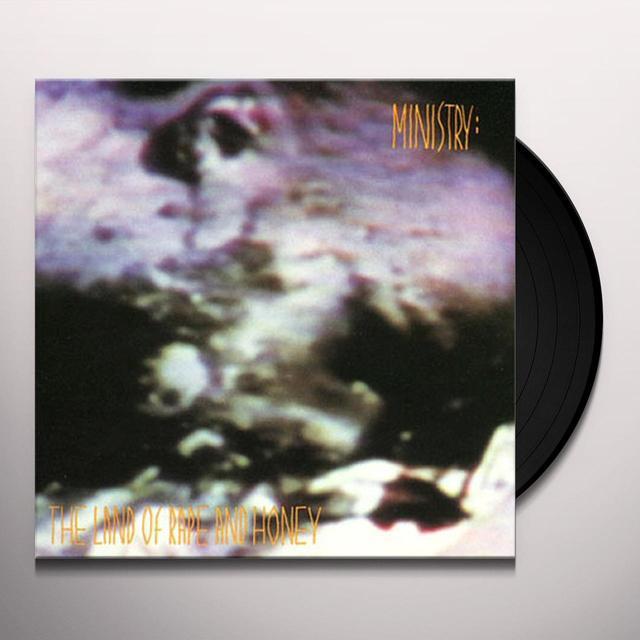 Ministry LAND OF RAPE & HONEY Vinyl Record
