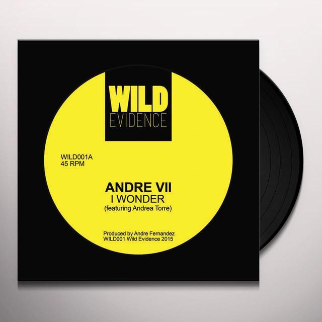 ANDRE VII I WONDER Vinyl Record - UK Import