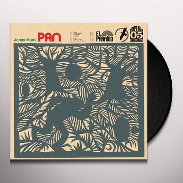 Jonas Munk PAN Vinyl Record - UK Import