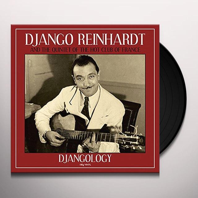 Django Reinhardt DJANGOLOGY Vinyl Record - UK Release