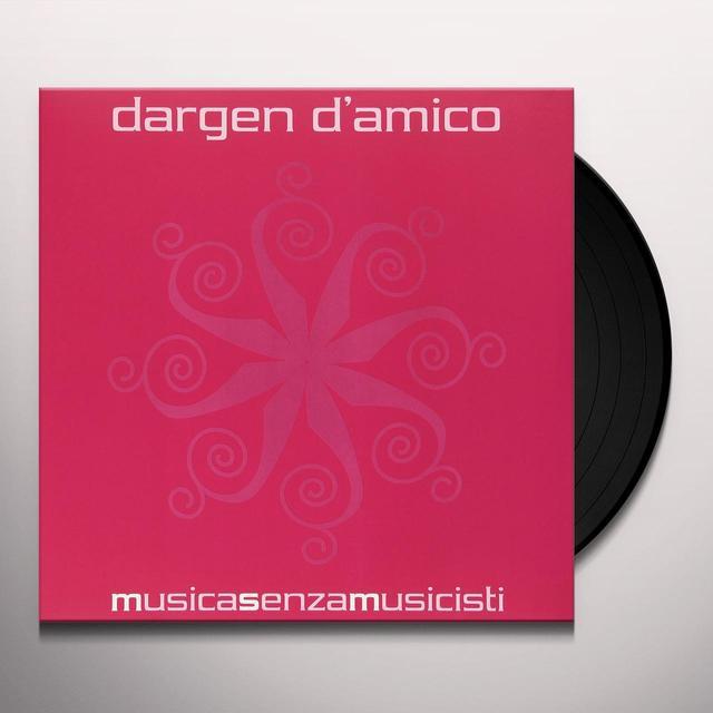 DARGEN D'AMICO MUSICA SENZA MUSICISTI Vinyl Record - Italy Import