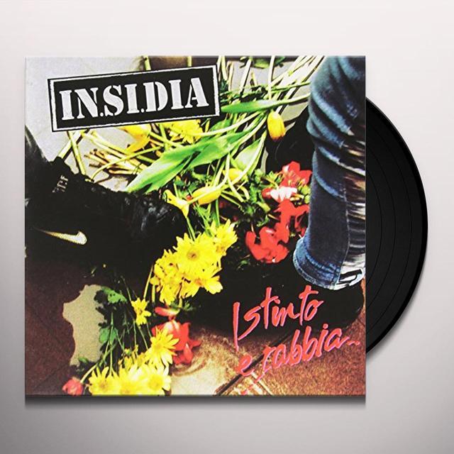 IN.SI.DIA ISTINTO E RABBIA Vinyl Record