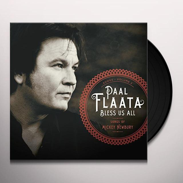 Paal Flaata BLESS US ALL-THE SONGS OF MICKEY (BLUE VINYL) Vinyl Record