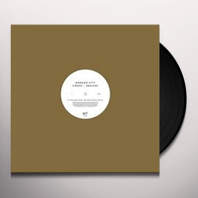 Gorgon City SIRENS (REMIXES) Vinyl Record - Remixes, UK Import