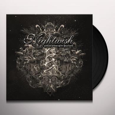 Nightwish ENDLESS FORMS MOST BEAUTIFUL Vinyl Record - UK Import