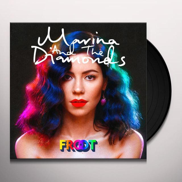 Marina & The Diamonds FROOT Vinyl Record - UK Import