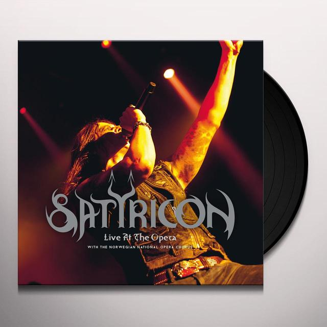 Satyricon LIVE AT THE OPERA Vinyl Record
