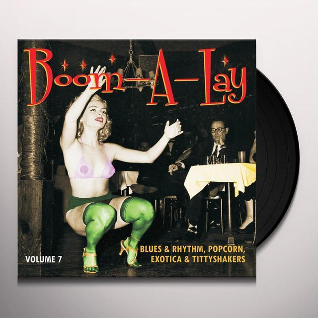 BOOM-A-LAY: BLUES & RHYTHM POPCORN EXOTIC 7 / VAR Vinyl Record