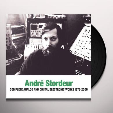 Andre Stordeur ANALOG & DIGITAL ELECTRONIC MUSIC 1978-80 Vinyl Record