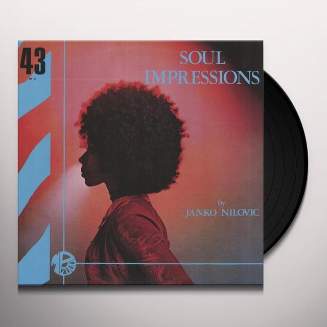 Janko Nilovic SOUL IMPRESSIONS Vinyl Record