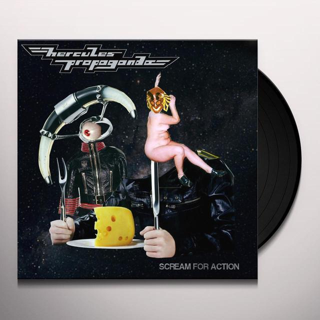 HERCULES PROPAGANDA SCREAM FOR ACTION Vinyl Record