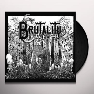 Brutality RUINS OF HUMANS Vinyl Record