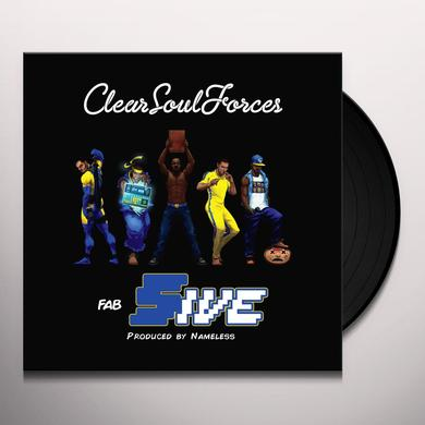 Clear Soul Forces FAB FIVE Vinyl Record