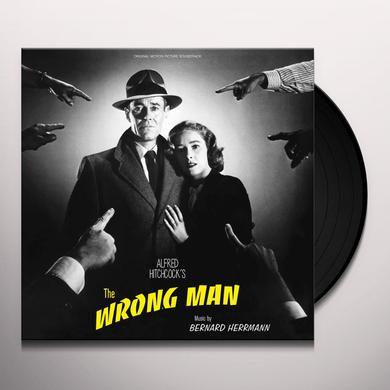 Bernard Herrmann WRONG MAN Vinyl Record