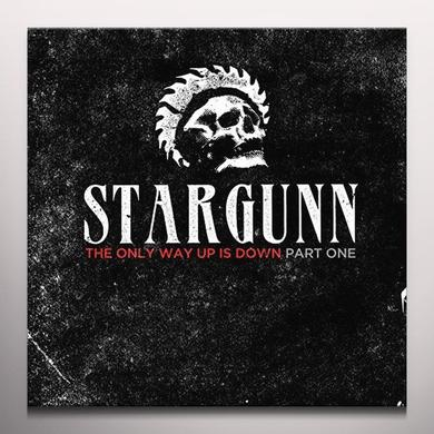 Stargunn ONLY WAY UP IS DOWN Vinyl Record - Colored Vinyl, Limited Edition, White Vinyl