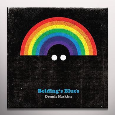 Dennis Haskins BELDINGS BLUES Vinyl Record