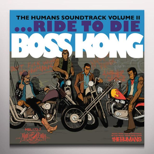 BOSS KONG (COLV) HUMANS 2 / O.S.T. Vinyl Record - Colored Vinyl