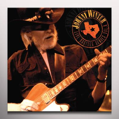 Johnny Winter LIVE BOOTLEG SERIES 4 Vinyl Record - Clear Vinyl, Limited Edition, 180 Gram Pressing