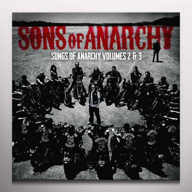 Sons Of Anarchy SONGS OF ANARCHY 2 & 3 - O.S.T. Vinyl Record - Clear Vinyl, 180 Gram Pressing