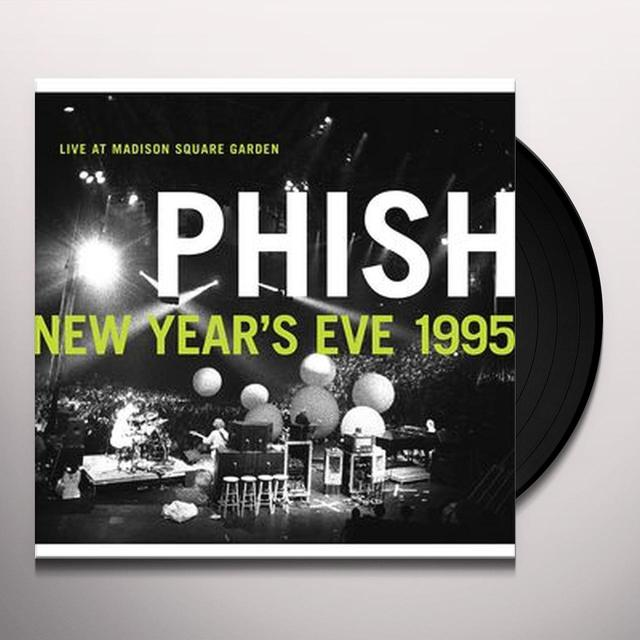 Phish NEW YEAR'S EVE 1995 LIVE AT MADISON SQUARE GARDEN Vinyl Record