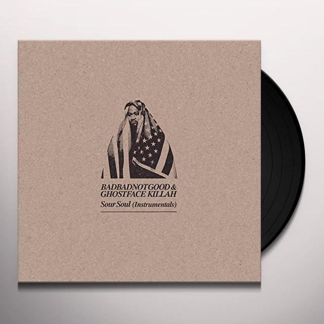 GHOSTFACE KILLAH and BADBADNOTGOOD SOUR SOUL (INSTRUMENTALS) Vinyl Record - Digital Download Included