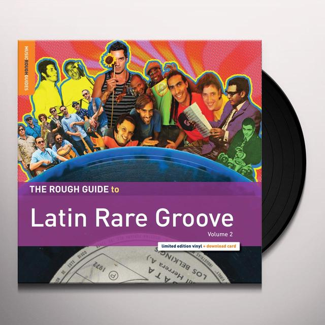 ROUGH GUIDE TO LATIN RARE GROOVE 2 / VARIOUS Vinyl Record