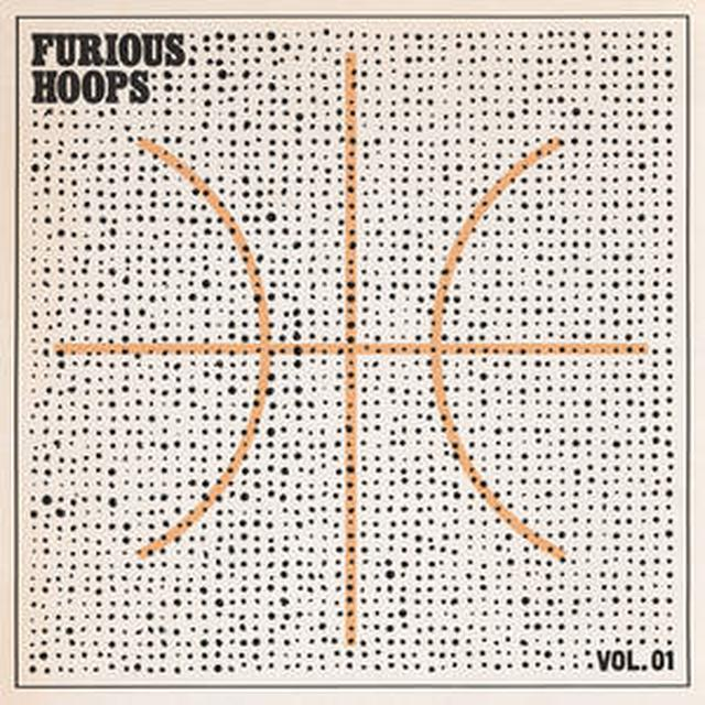 FURIOUS HOOPS 1 / VARIOUS (COLV) (ORG) (STIC) FURIOUS HOOPS 1 / VARIOUS Vinyl Record - Colored Vinyl, Orange Vinyl, Stickers Included
