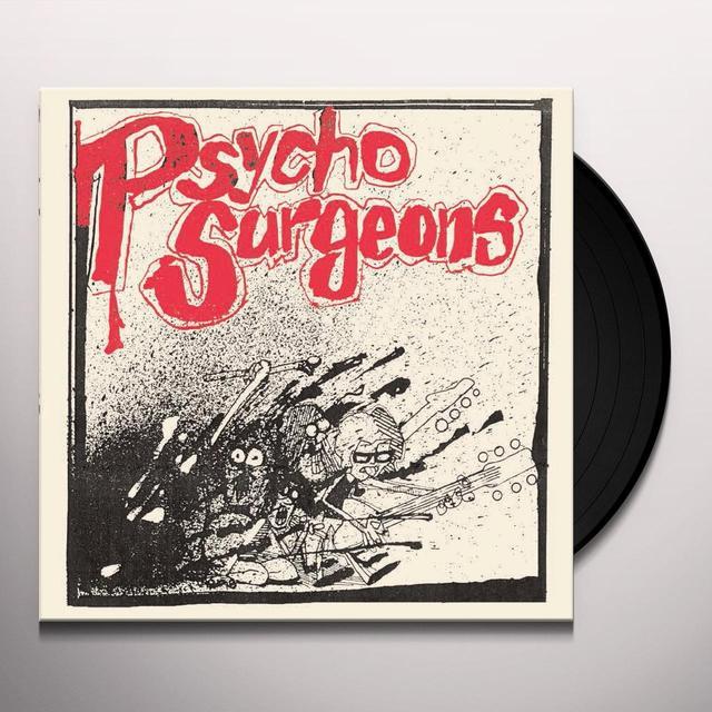 PSYCHO-SURGEONS CRUSH ON YOU / FALLING APART Vinyl Record