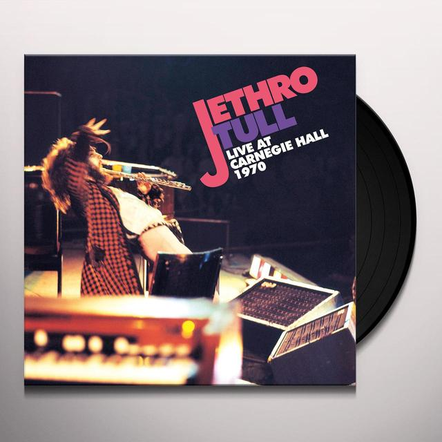 Jethro Tull LIVE AT CARNEGIE HALL 1970 Vinyl Record - 180 Gram Pressing